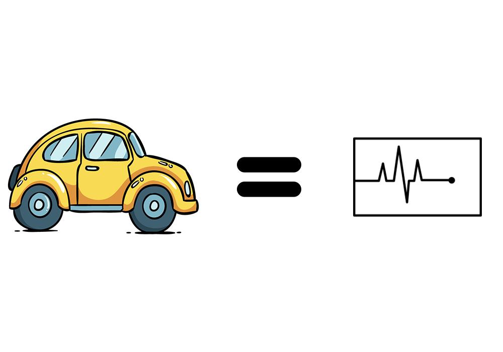 Lire un ECG est équivalent à conduire une voiture